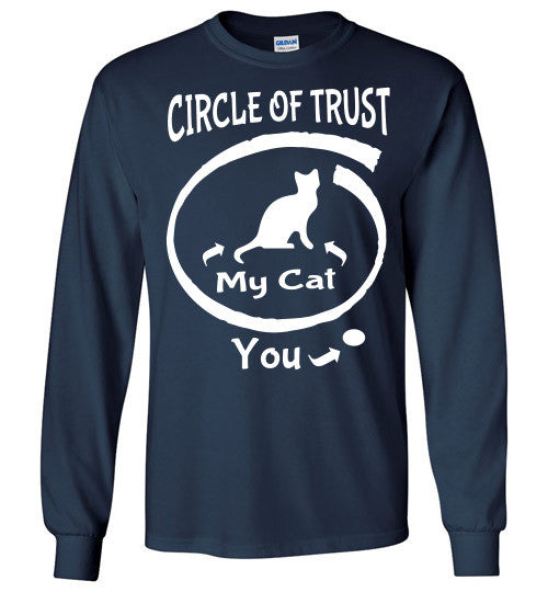 Circle of Trust - CAT Long Sleeve T-Shirt - Furbabies.love - 5