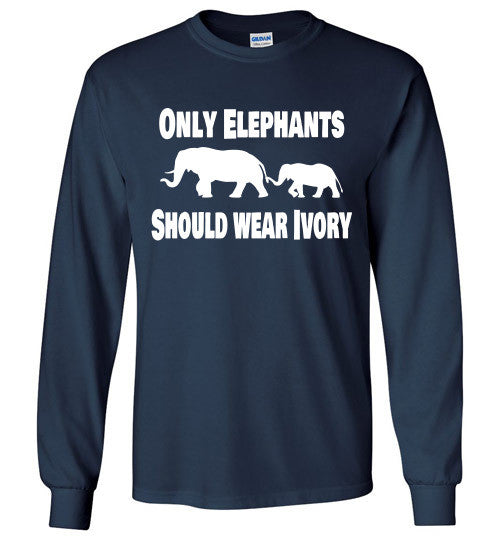 Only Elephants Should Wear Ivory - Furbabies.love - 3