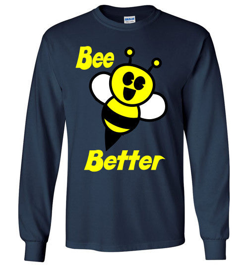 BEE Better Gildan Long Sleeve Tee-shirt - Furbabies.love - 8