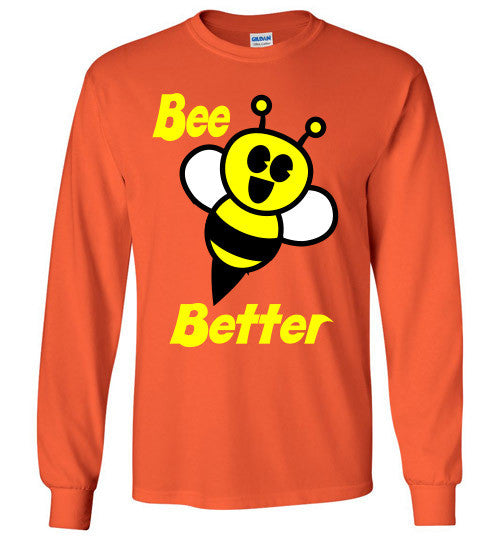 BEE Better Gildan Long Sleeve Tee-shirt - Furbabies.love - 9