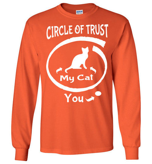 Circle of Trust - CAT Long Sleeve T-Shirt - Furbabies.love - 6