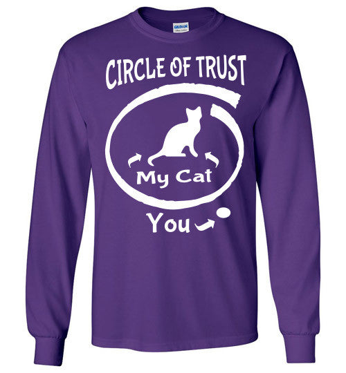 Circle of Trust - CAT Long Sleeve T-Shirt - Furbabies.love - 7