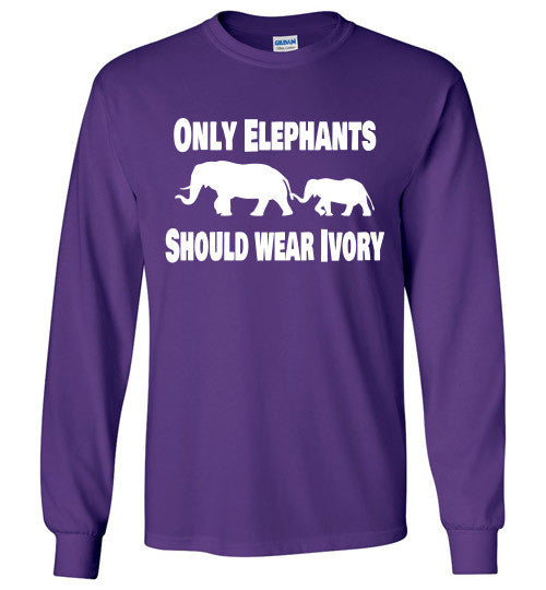 Only Elephants Should Wear Ivory - Furbabies.love - 4