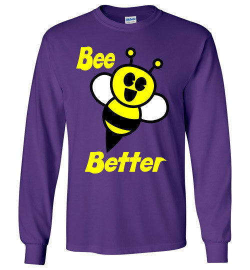 BEE Better Gildan Long Sleeve Tee-shirt - Furbabies.love - 10