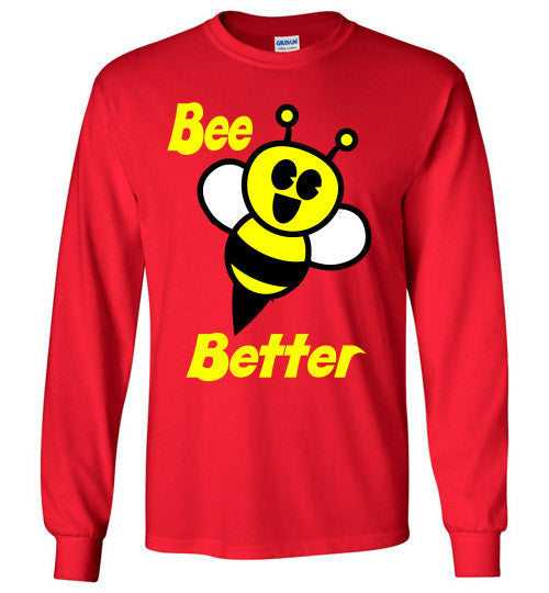 BEE Better Gildan Long Sleeve Tee-shirt - Furbabies.love - 11