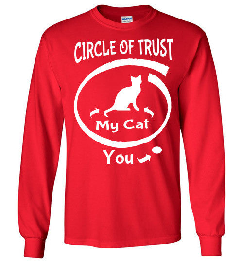 Circle of Trust - CAT Long Sleeve T-Shirt - Furbabies.love - 8