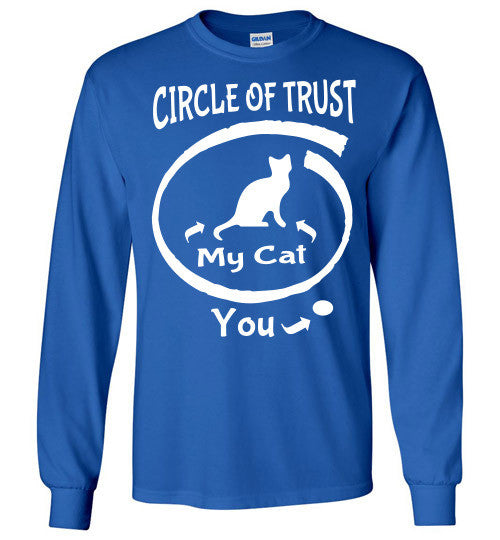 Circle of Trust - CAT Long Sleeve T-Shirt - Furbabies.love - 9