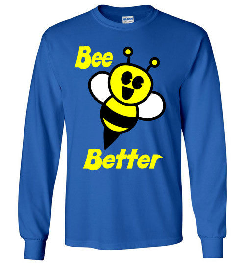 BEE Better Gildan Long Sleeve Tee-shirt - Furbabies.love - 12