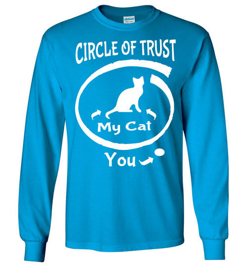 Circle of Trust - CAT Long Sleeve T-Shirt - Furbabies.love - 10