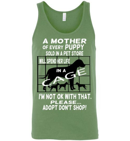 A MOTHER of every PUPPY will spend her life in a cage. - Furbabies.love