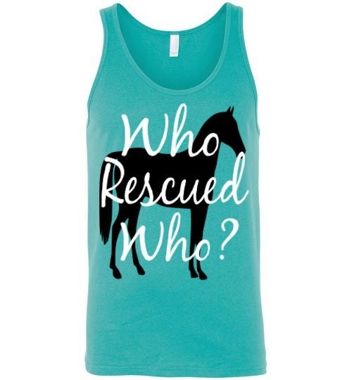 Who rescued who? Horse - Furbabies.love