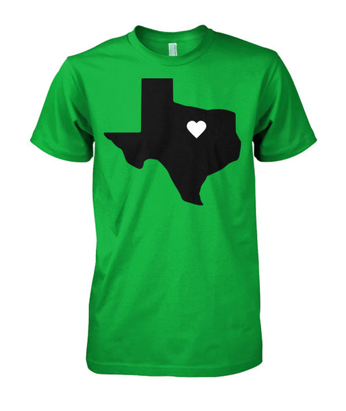 Heart of Texas Tee-shirt - Furbabies.love - 5