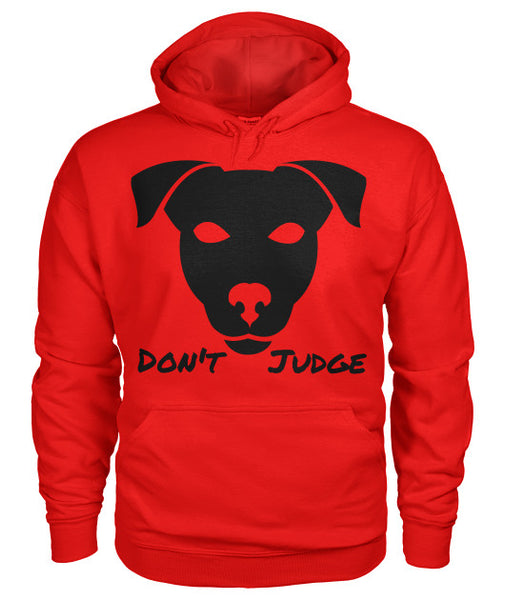 Don't Judge - Pitbull Dog Hoodie - Furbabies.love - 13