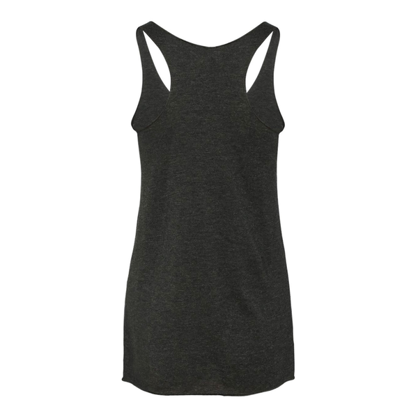 Ladies Triblend Racerback Tank Top - Will Work For
