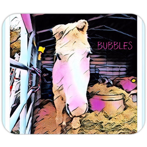 Bubbles The Rescue Horse Mousepad