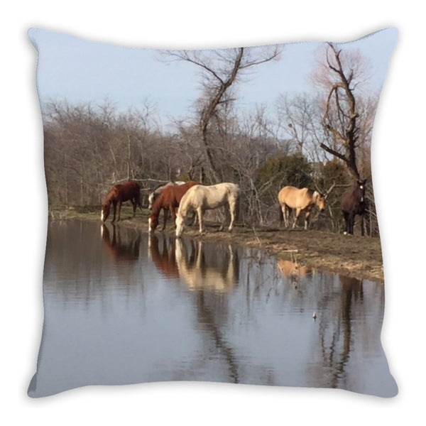 Becky's Hope Horse Rescue  -  Horse Pillow - Furbabies.love - 3