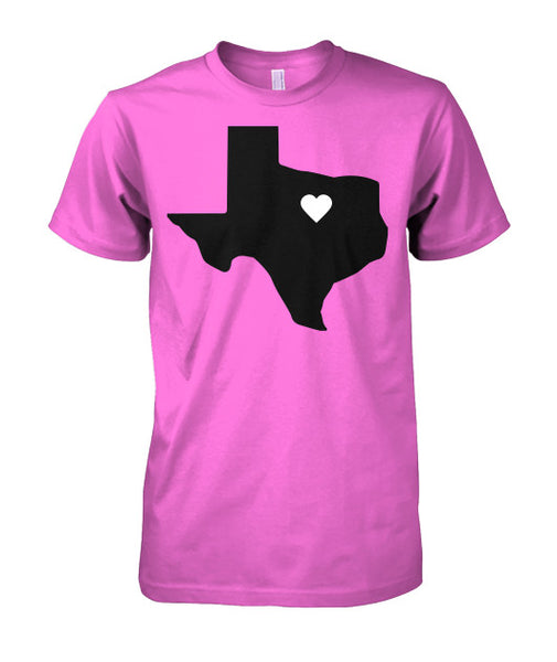 Heart of Texas Tee-shirt - Furbabies.love - 3