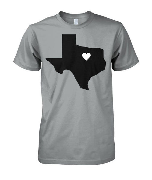 Heart of Texas Tee-shirt - Furbabies.love - 9