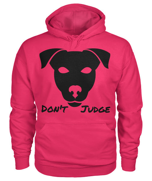 Don't Judge - Pitbull Dog Hoodie - Furbabies.love - 7
