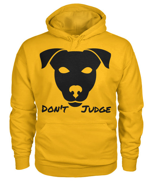 Don't Judge - Pitbull Dog Hoodie - Furbabies.love - 11