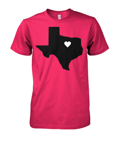 Heart of Texas Tee-shirt - Furbabies.love - 1