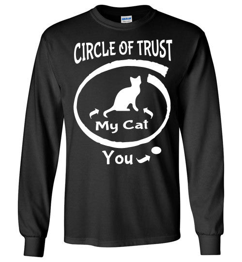 Circle of Trust - CAT Long Sleeve T-Shirt - Furbabies.love - 1