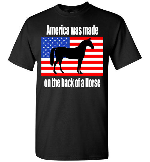 America was made on the back of a Horse - Furbabies.love