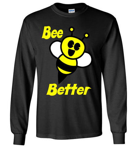 BEE Better Gildan Long Sleeve Tee-shirt - Furbabies.love - 1