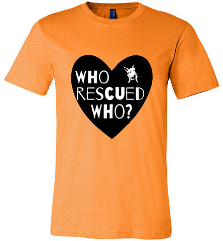 Who Rescued Who? Dog / Heart - Furbabies.love