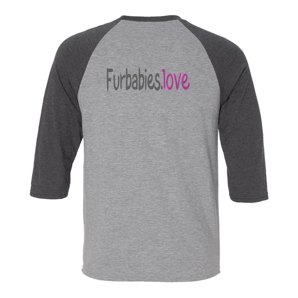 Furbabies.love PAY IT FORWARD Adult Raglan Shirt - Furbabies.love - 2