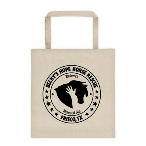 Tote bag - Becky's Hope Horse Rescue - Furbabies.love