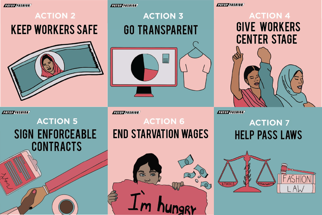 Payup Campaign Actionable Steps Garment Worker Protection