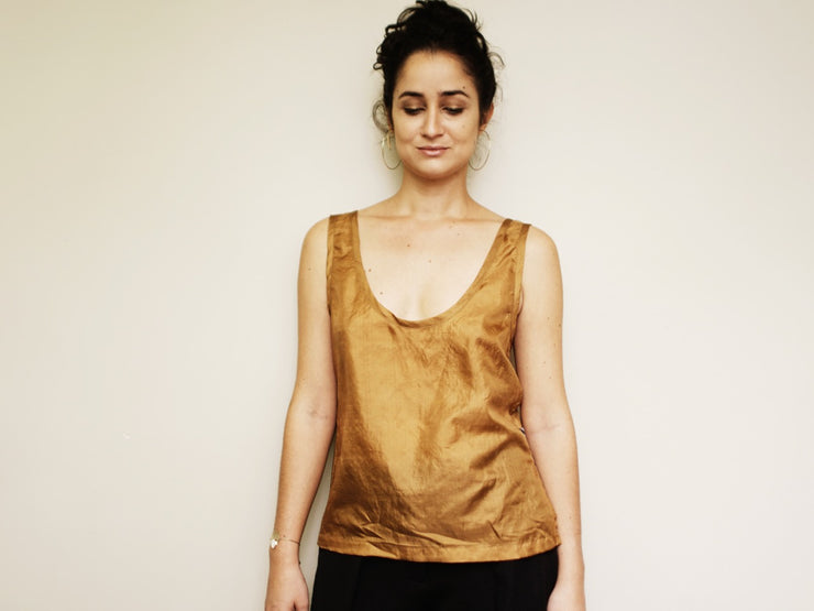 SOVANNAH SILK TANK - GOOD KRAMA