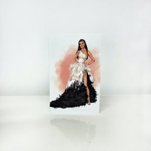 Limited Edition Couture Greeting Cards - Caris