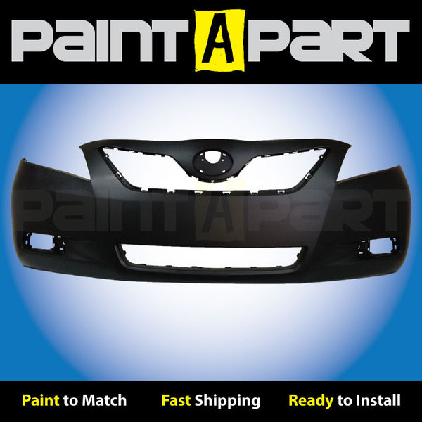 USA 2007 2008 2009Toyota Camry Front Bumper Painted 202 Black