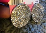 Stunning Circle Diamond Rhinestones Earrings