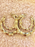 "Meekswear ""Bamboo Earrings"" Classic Earrings"