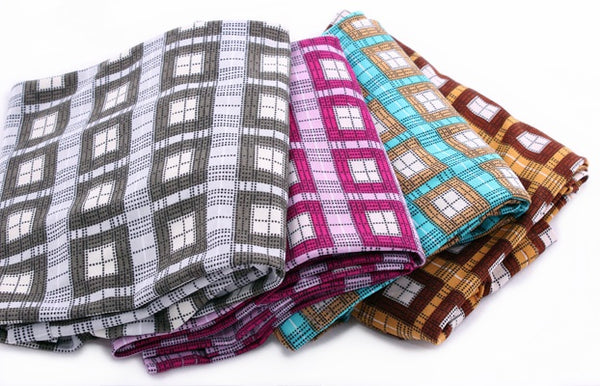 Checks 2pc Amira (Slip-On) Hijab - AlSundus