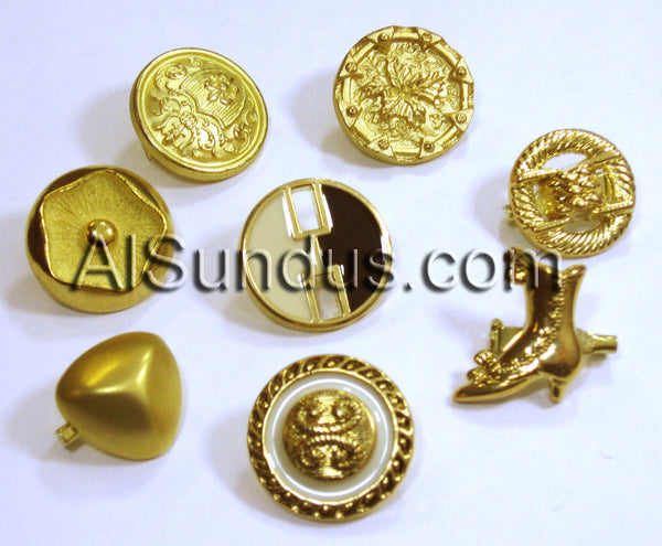 Hind Hijab Pin -Golden