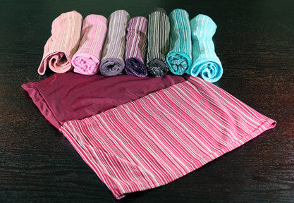 Double-sided Striped Tube Underscarf