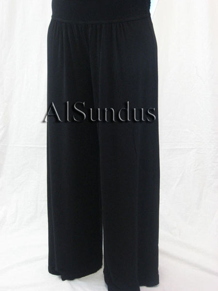 Long Shirring Pant -Plus