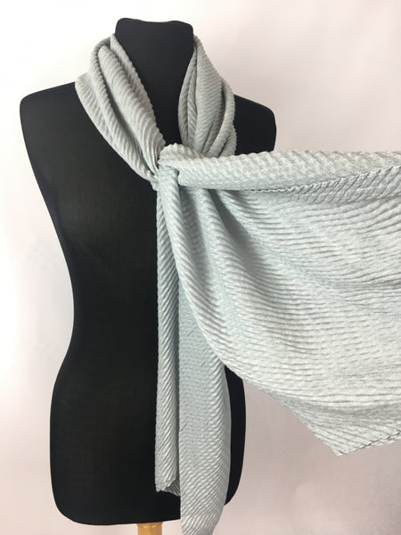 Textured bubble wrap scarf Deep Tones - AlSundus