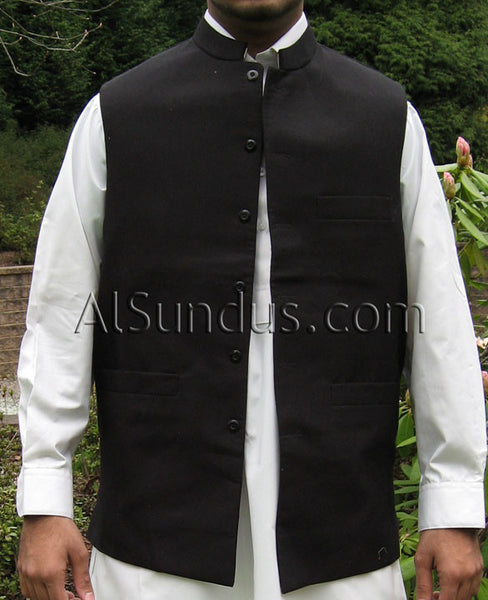 Men's Mandarin Collar Vest