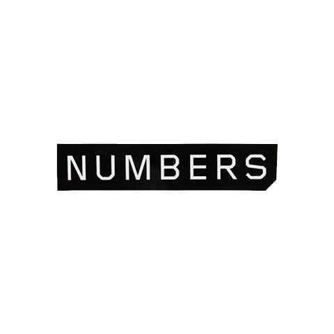 NUMBERS EDITION MITERED LOGO