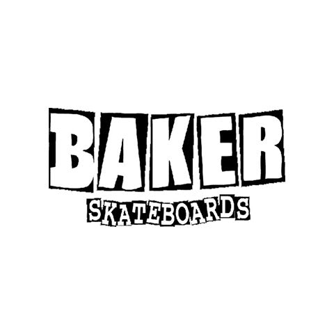 BAKER SKATEBOARDS MEDIUM LOGO STICKER