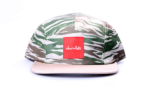 CHOCOLATE CAMO CAMPER HAT