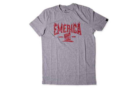 EMERICA GAS CAN FLAME LOGO