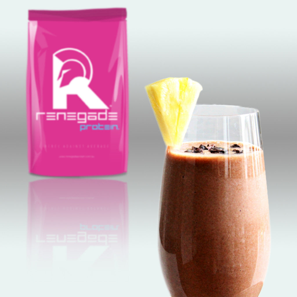 Lean & Clean Macadamia Chocolate Pineapple Smoothie