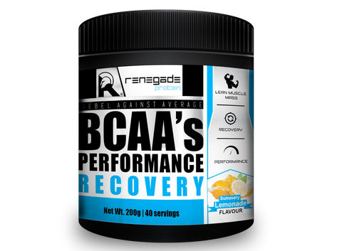 BCAA's Performance Recovery