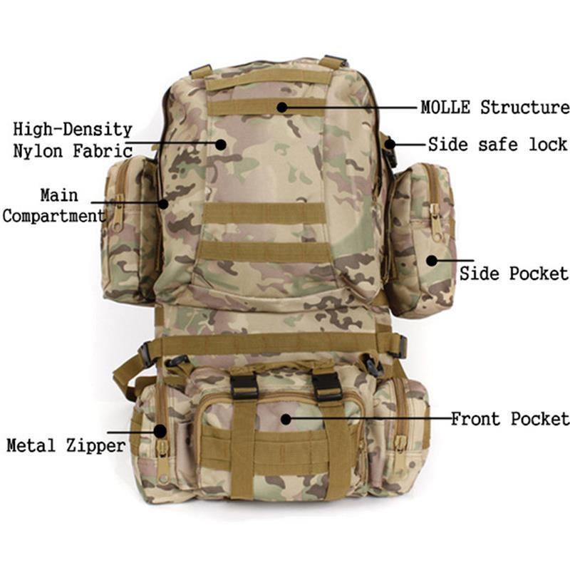 Waterproof Tactical Backpack | SurvivalSets